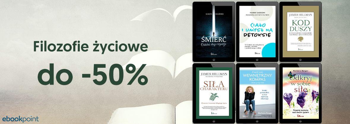 Promocja na ebooki Filozofie życiowe / do -50%